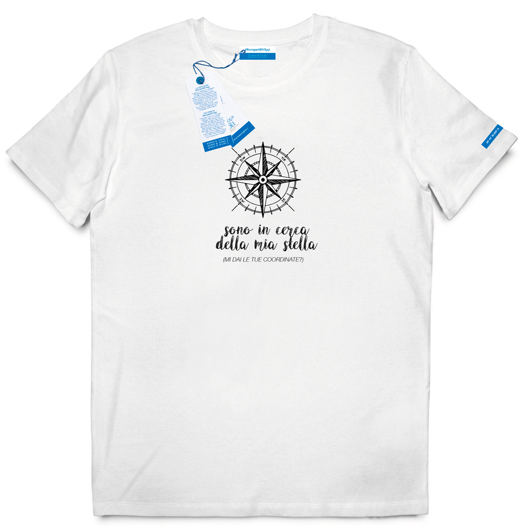 T-shirt Nautischer Stern Limited Edition